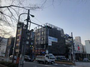 東京都府中市 大國魂神社前 商業ビル 大規模修繕工事