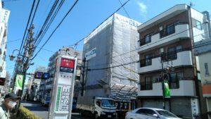 東京都三鷹市(三鷹通沿い)分譲マンション大規模修繕工事