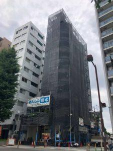 東京都府中市賃貸ビル 大規模改修工事